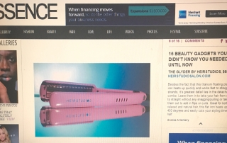 Dee Doanes PR Public Relation The Glyder Flat Iron Essence Feature