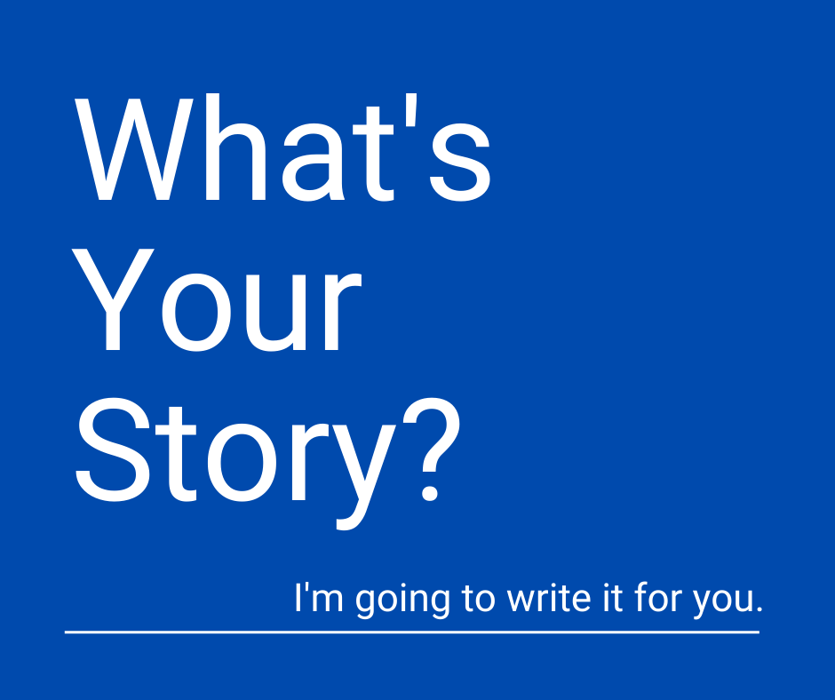What's Your Story Dee Doanes Writer.